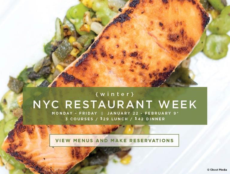 Winter 2018 NYC Restaurant Week