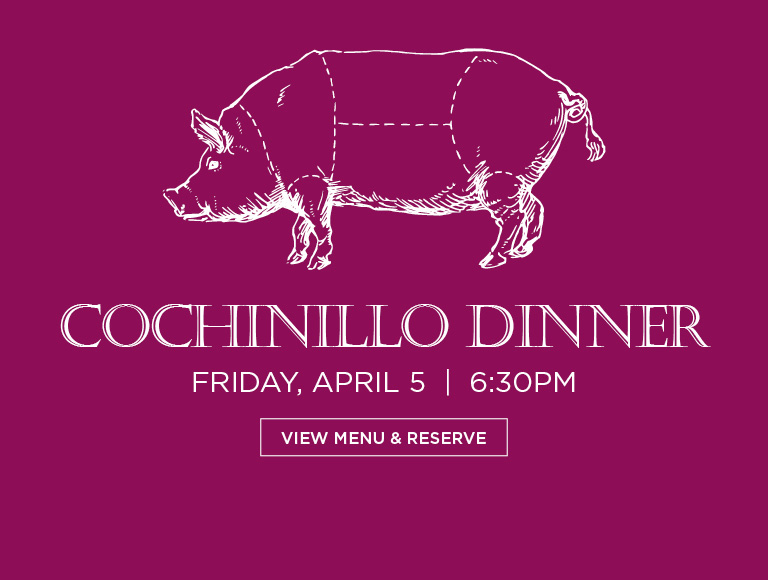 View Menu & Reserve | Cochinillo Dinner, Friday April 5 | MetLife Building Dining
