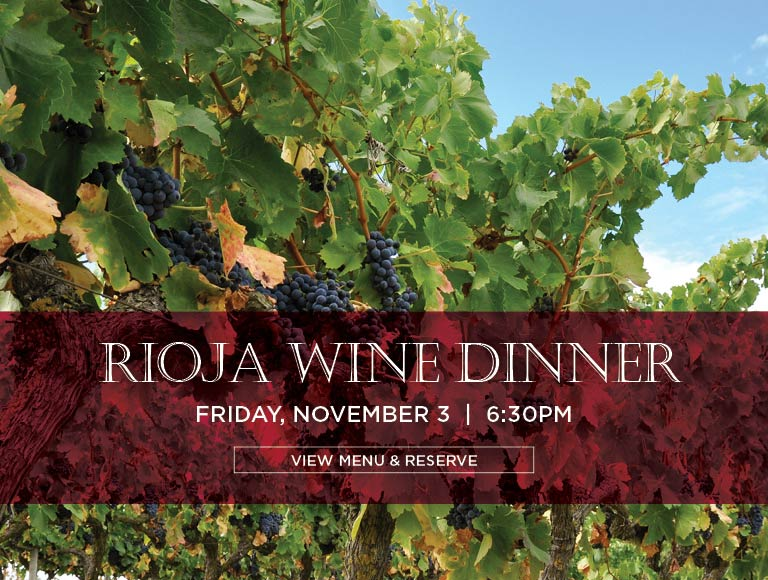Rioja Wine Dinner at La Fonda Del Sol