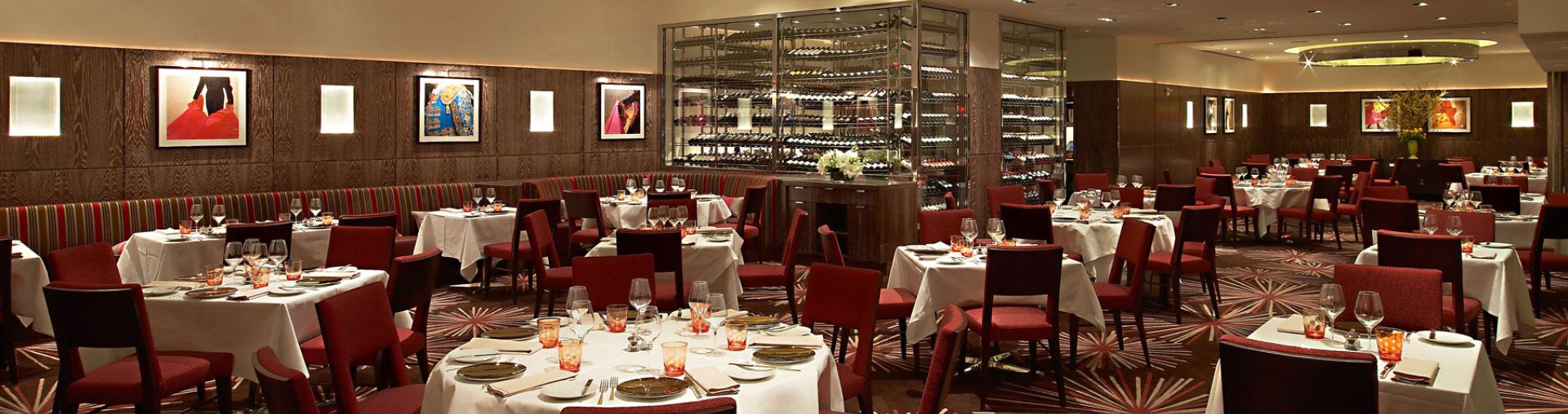 La Fonda del Sol's main dining room event space in NYC