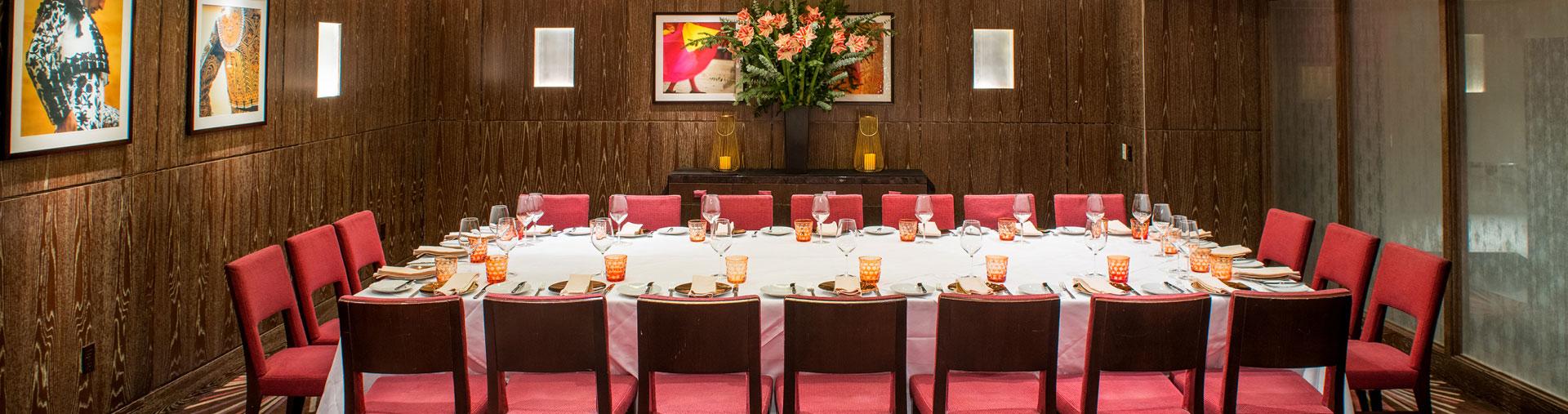 La Fonda del Sol's private dining room event space in NYC