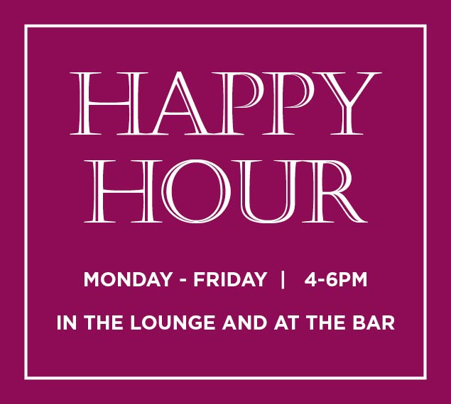 Enjoy Happy Hour With Us