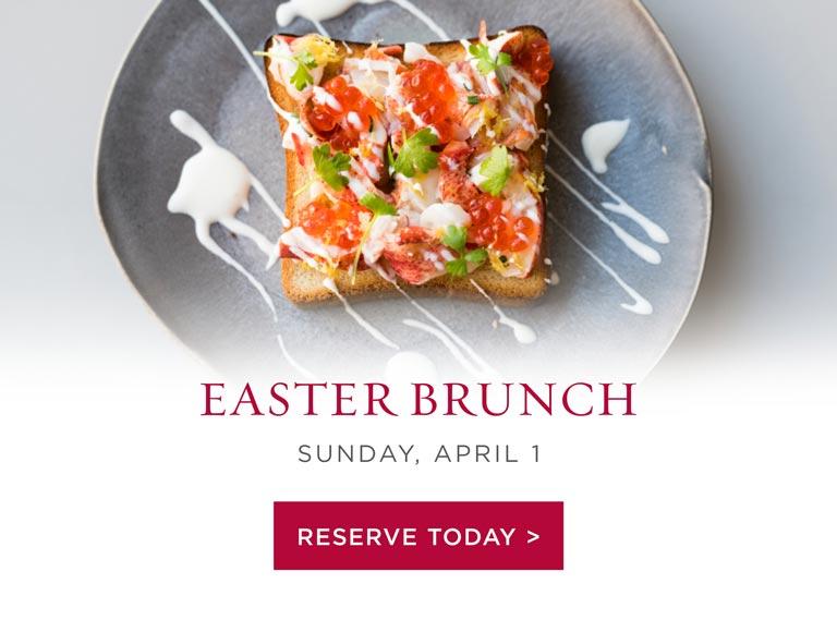 Easter Brunch 2018