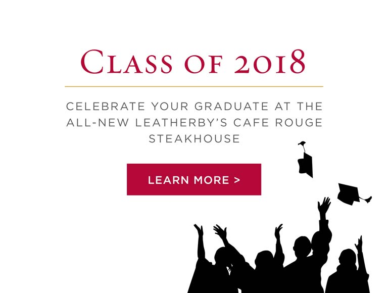 Celebrate Your Graduate at Leatherby's