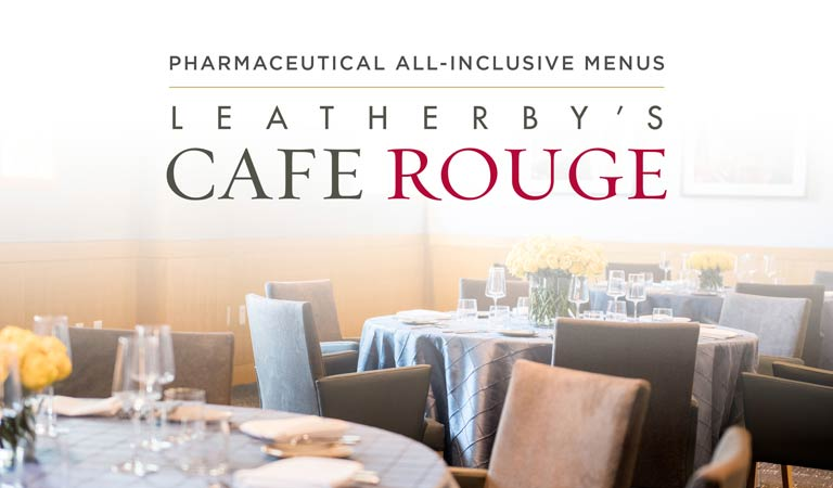Plan Your Pharmaceutical Meeting or Event at Leatherby's