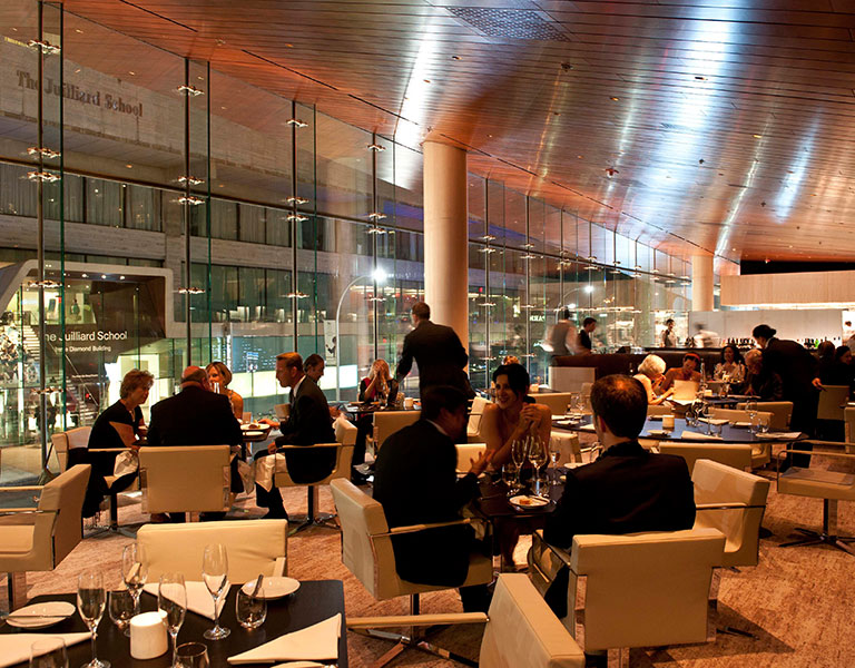 Restaurants by Lincoln Center