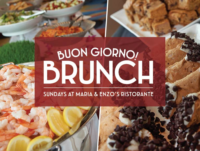 Sunday Brunch | View Menu | Disney Springs Italian Restaurant