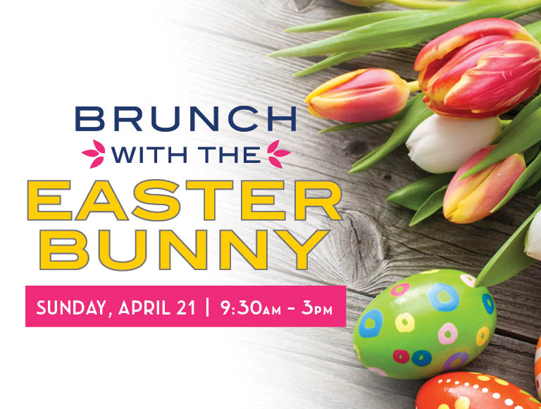 Brunch with the Easter Bunny | Sunday, April 21, 9:30am - 3pm | Disney Springs Easter Brunch