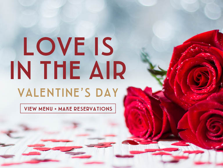 Love Is In The Air for Valentine's Day at Maria & Enzo's | View Menu & Reserve Now | Disney Springs dining