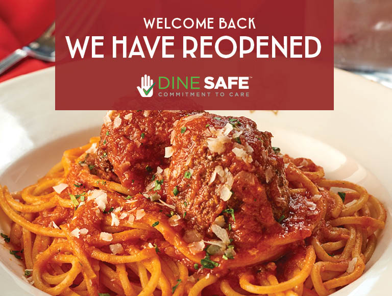 Welcome Back | We Have Reopened | Dine Safe Commitment To Care