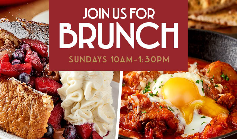Brunch at Maria & Enzo's in Disney Springs | Sundays, 10AM-1:30PM