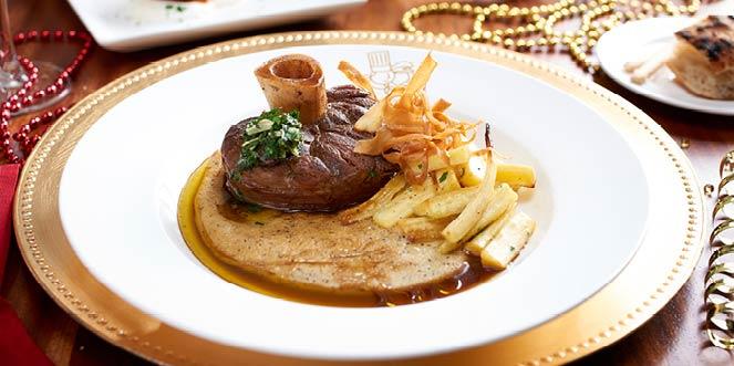 Ribeye Steak, dining at Disney Springs
