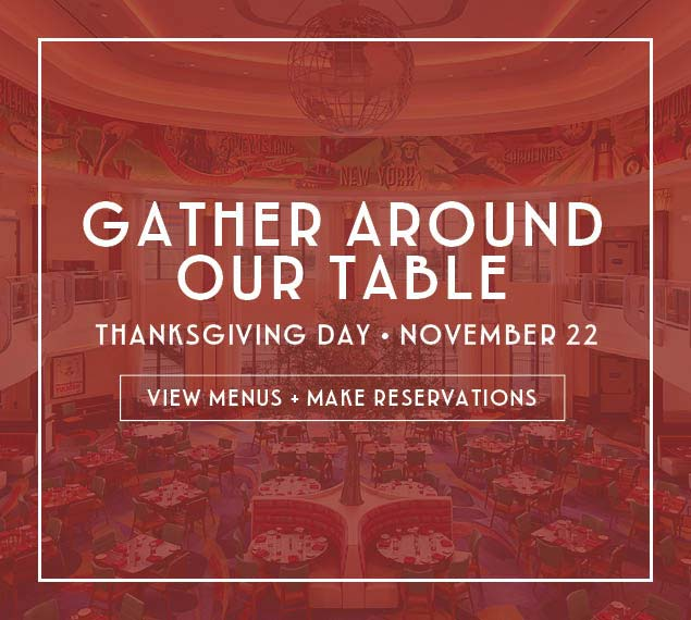 View Menu & Reserve for Thanksgiving