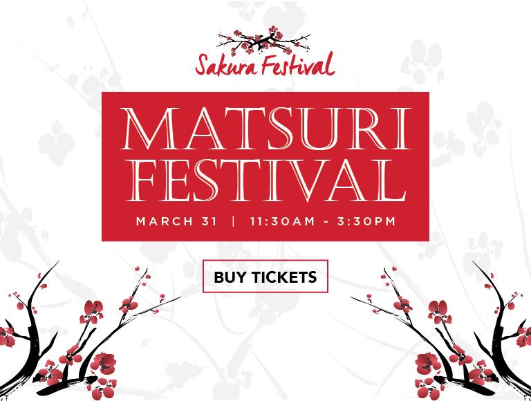 Buy Tickets | Matsuri Festival, March 31 | Sakura Festival | Disney Springs