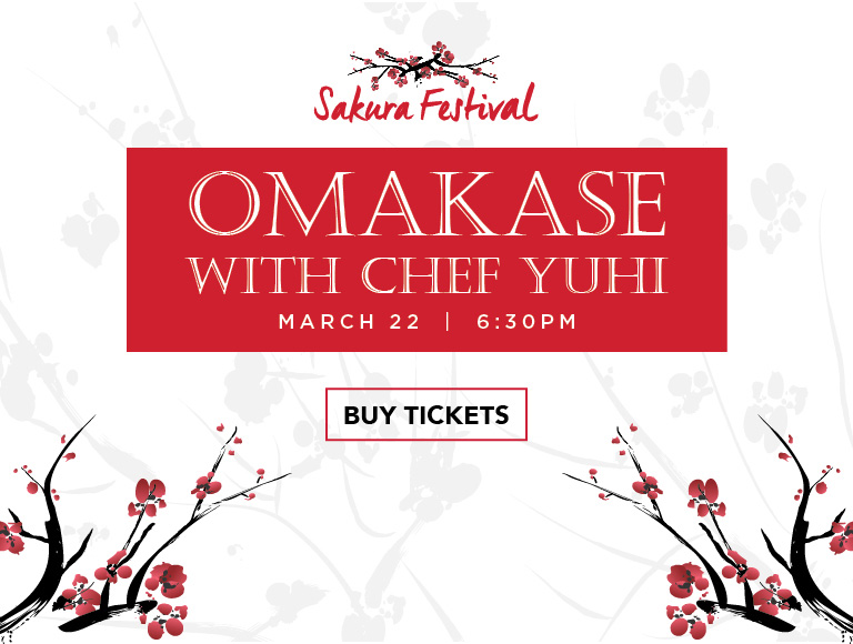 Buy Tickets | Omakase with Chef Yuhi | Sakura Festival | Disney Springs