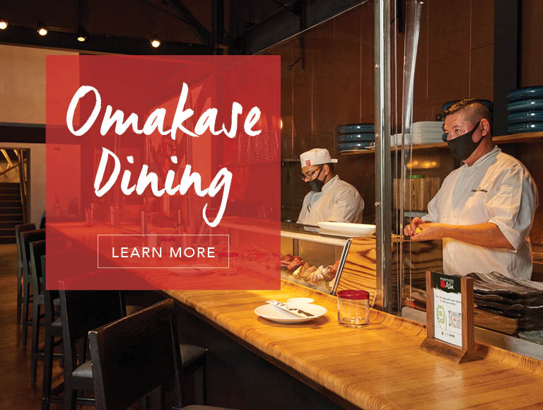 Omakase Dining | Click to Learn More