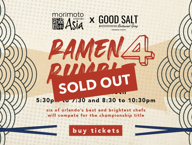 Ramen Rumble is SOLD OUT