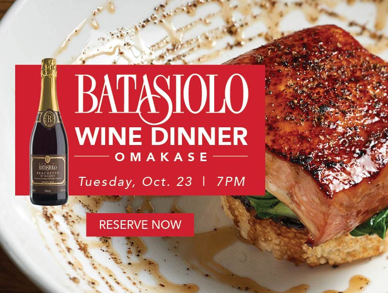 Reserve Now for Batasiolo Wine Dinner, Disney Springs Restaurant