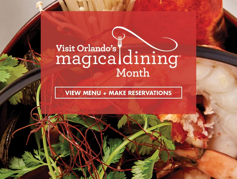 View Menu & Reserve for Orlando's Magical Dining Month