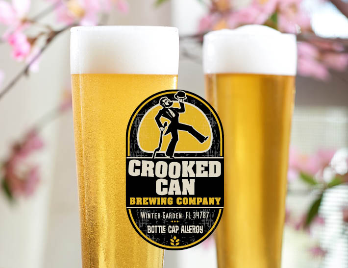 Glasses of Beer | Crooked Can Brewing Company