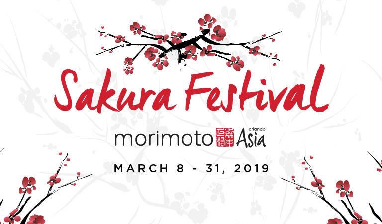 Sakura Festival | Morimoto Asia Orlando | March 8-31, 2019