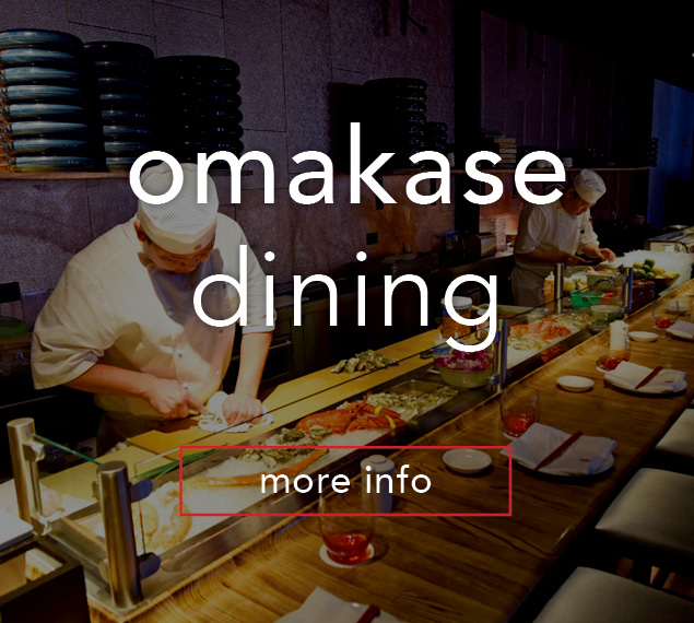 Learn more about Omakase Dining at Morimoto
