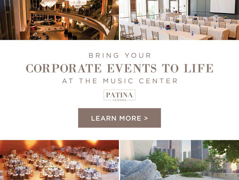 Corporate Events at The Music Center, Los Angeles