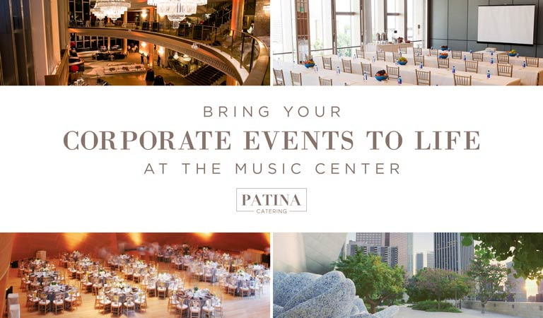 Corporate Events at The Music Center, Downtown Los Angeles