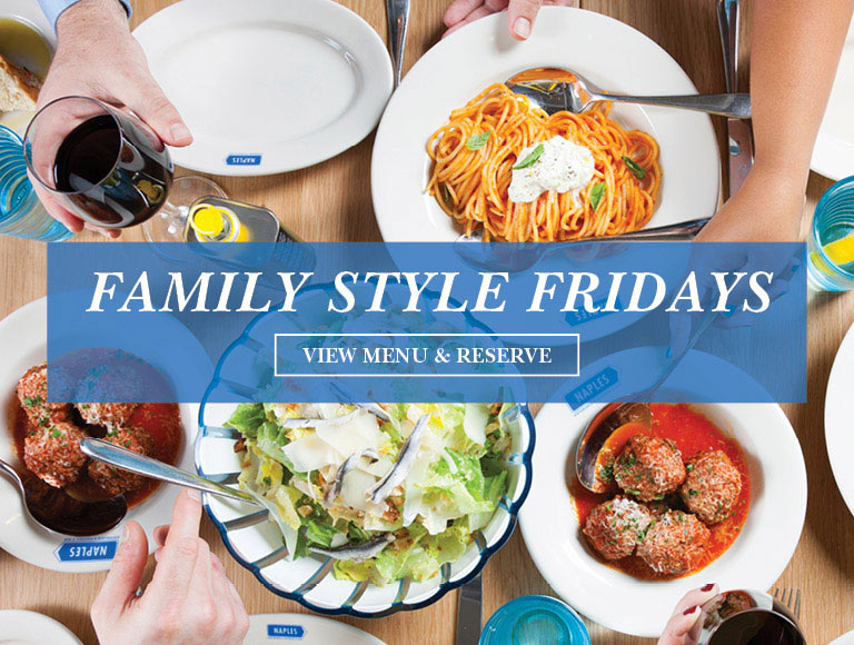View Menu & Reserve | Family Style Fridays at Naples 45 in midtown NYC