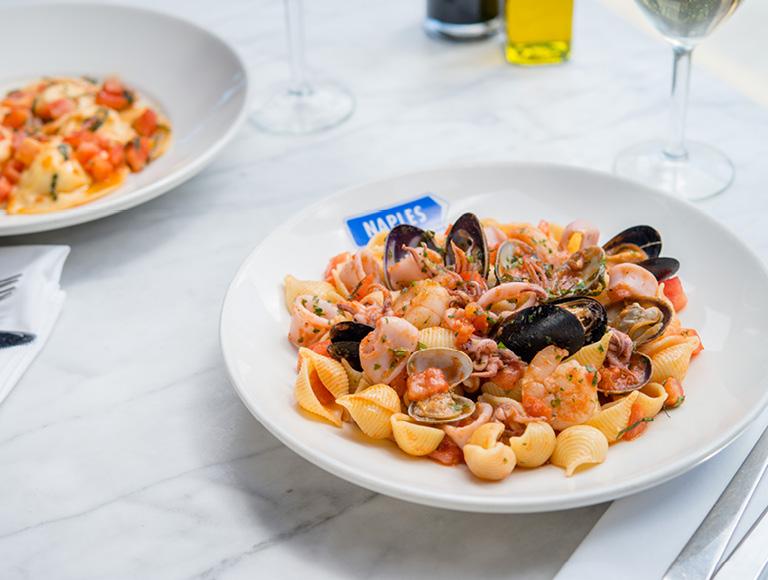 Conchiglie Pasta, Italian Dining, Anaheim, California