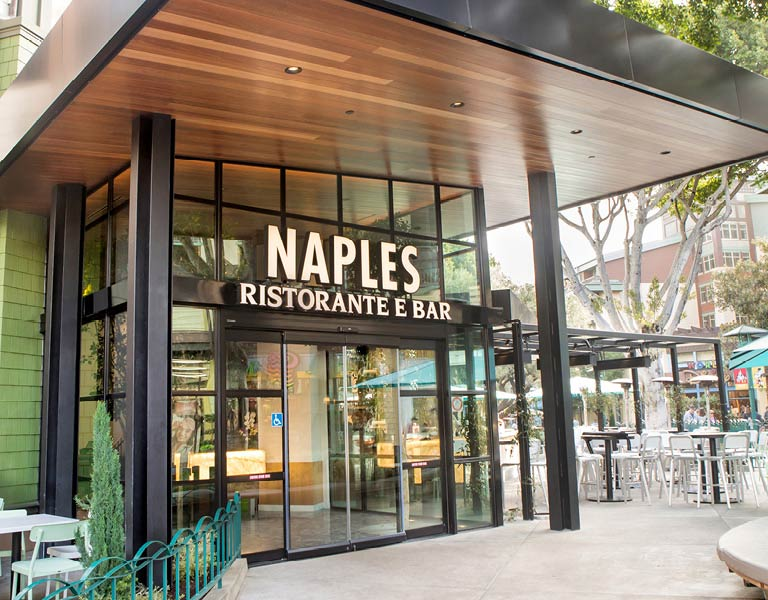 Naples Ristorante e Bar main entrance, Anaheim dining