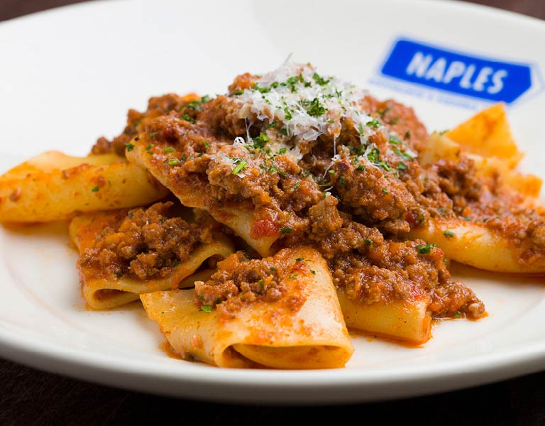 Paccheri, Italian dining, at Downtown Disney
