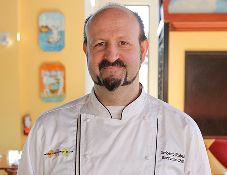 Executive Chef Umberto Rubelli