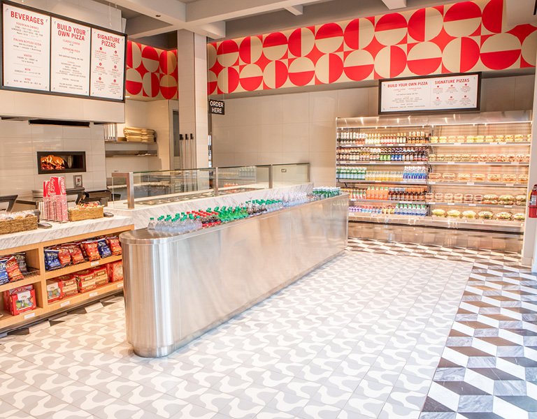 Napolini food service counter