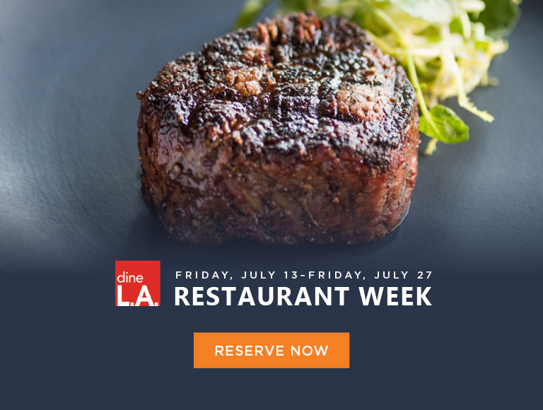 dineLA Restaurant Week, July 13-27, Los Angeles