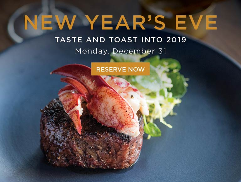 Reserve now and ring in 2019 at Nick + Stef's, Los Angeles steakhouse