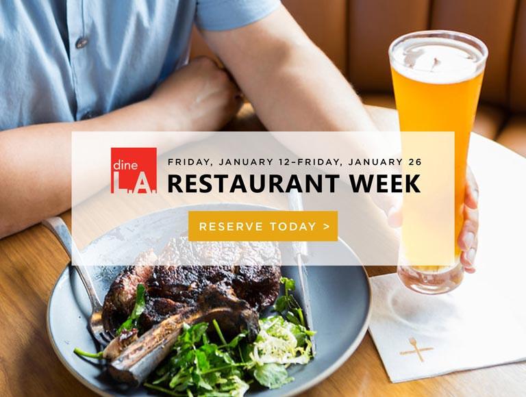 Eat at Nick and Stef's Steakhouse for DinaLA Restaurant Week