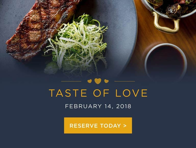 Reserve Now For Valentine's Day
