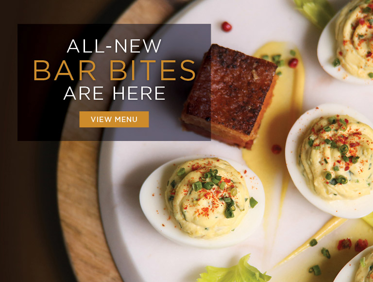 View Menu | All-New Bar Bites are here | Nick + Stef's Steakhouse in Los Angeles