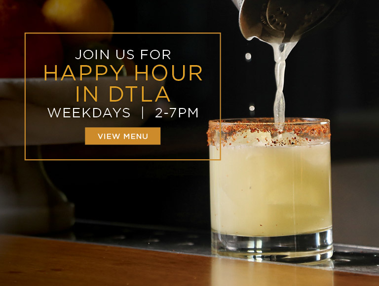 View Menu | Join us for Happy Hour in DTLA at Nick + Stef's Steakhouse | Weekdays | 2-7PM