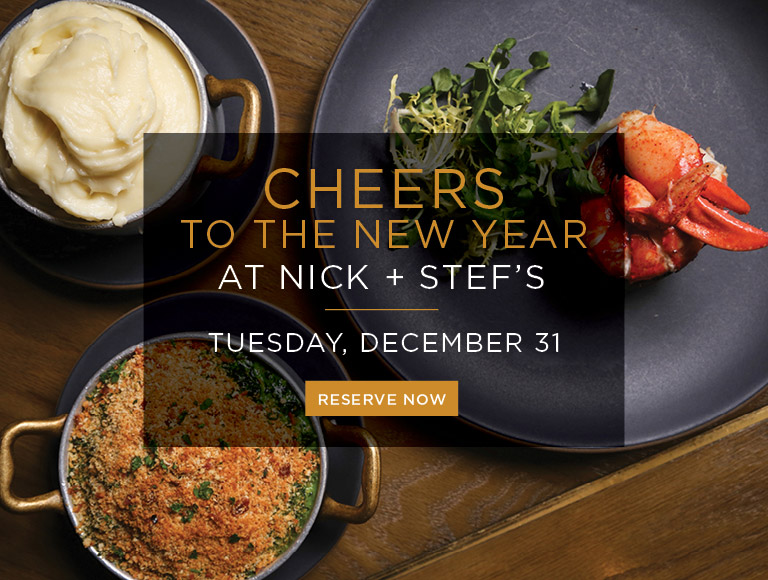 Reserve Now | Cheers to the New Year at Nick + Stef's in Los Angeles | Tuesday, December 31