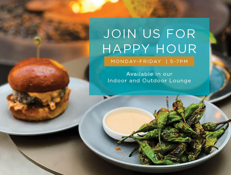 Join us for Happy Hour at Nick + Stef's LA Tuesday through Friday from 5 to 7 p.m.