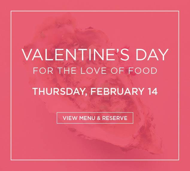 View Valentine's Day Menu