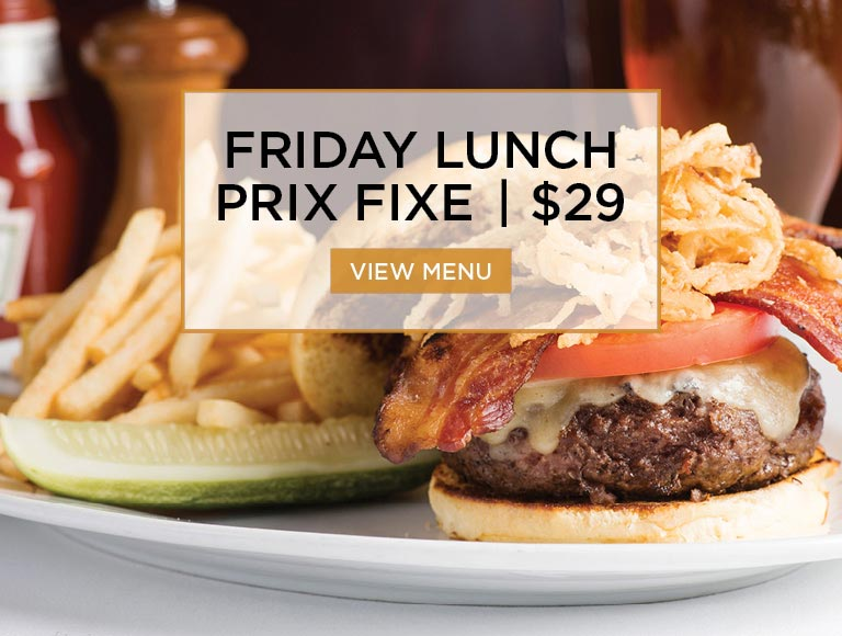 Prix Fixe Friday Lunch, New York City