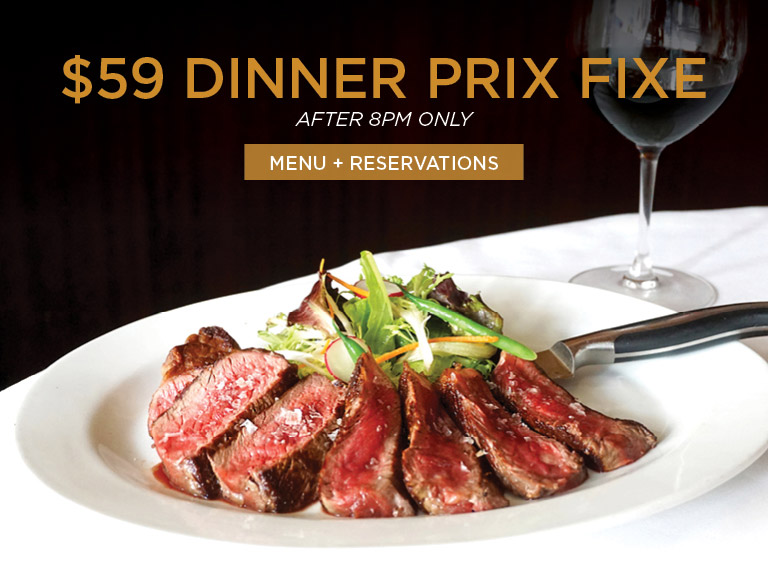 Menu + Reservations | $59 Dinner Prix Fixe at Nick + Stef's Steakhouse Near MSG | After 8PM Only