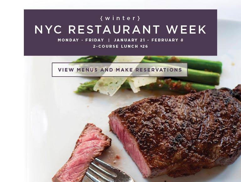 Winter 2019 New York City Restaurant Week | View Menu & Reserve Today