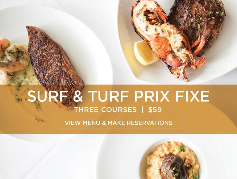 Surf & Turf Prix Fixe