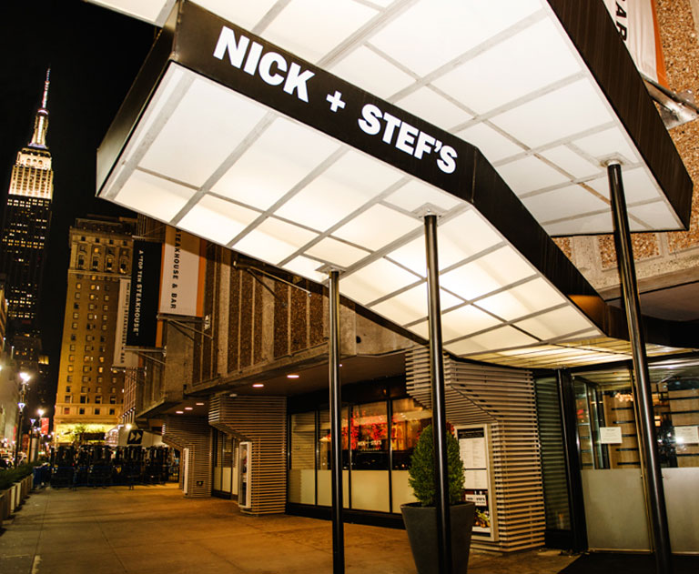 Nick Stef S Steak House Near Madison Square Garden New York Ny