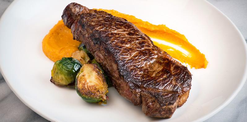 steak NYC MSG event night food