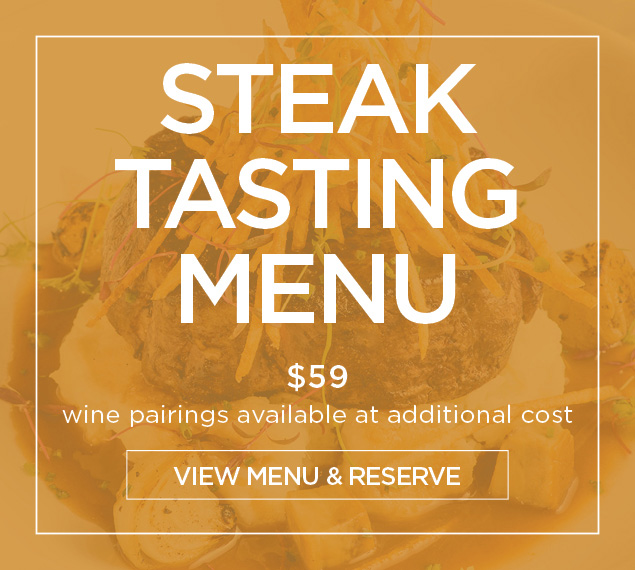 Steak Tasting Menu